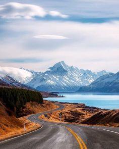 Aoraki/Mount Cook National Park, New Zealand // Rach Stewart Landscape Photos, Landscape Photography, Travel Photography, Nature Photography, Places To Travel, Places To Visit, New Zealand Landscape, New Zealand South Island, Mount Cook New Zealand
