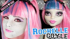 Rochelle Goyle Monster High Doll Costume Makeup Tutorial for Cosplay or Halloween