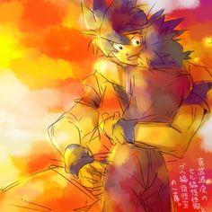 Goku and Gohan 「【2014】悟空log【5/9記念】」/「あけ」の漫画 [pixiv]