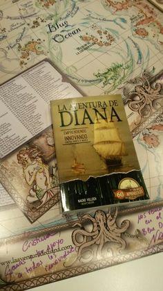 Estos póster de La Aventura de Diana pronto  estarán decorando las paredes  de despachos  de gente  muy innovadora
