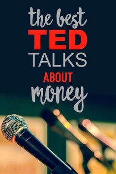 Check out these top 5 TED Talks if you want to learn more about personal finance! #FinanceDegree #FinanceClass