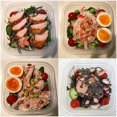 Diet Recipes, Healthy Recipes, Japanese Food, Fresh Rolls, Clean Eating, Lunch Box, Food And Drink, Health Fitness, Low Carb