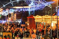 Snow may have come late to Lapland, but Ireland's biggest Christmas festival means you don't have to leave the country to bask in merry cheer. Irish Tourism, Clare Island, Christmas In Ireland, Waterford City, Guinness Storehouse, Grafton Street, Great Western, Fun Events, Old City