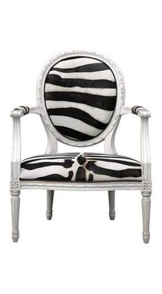 love the print on the classic chair