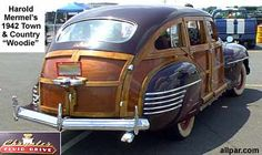 The Chrysler Town & Country woodie wagons, station wagons, and cars, 1941 to 1984