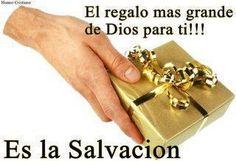"""""""LA SALVACIÓN ES UN REGALO""""REFLEXIONES PARA VOS. blog: http://reflexionesparavos.blogspot.com/2013/09/la-salvacion-es-un-regalo.html?spref=tw #regalo #reflexion #salvame"""