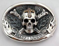 Skull Belt Buckles Boucle De Ceinture, Boucles, Bijoux, Boucles De Ceinture  Western, 31db1c3490f