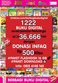 Baca Online Buku 60 Langkah 60 Hari Aku Pintar Membaca dan Menulis Katabaca.com Alphabet Activities, Preschool Activities, Baca Online, English Book, Stories For Kids, Free Reading, Kids Education, Reading Online, Childrens Books
