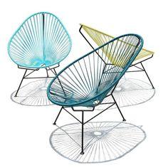 fauteuil scoubidou, acapulco, ©sentou - http://interieurites.com/le-design-scoubidou/