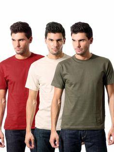 68cb43500c Buy Campbell Men Pack of 3 Tshirts   Rs.499. Women s Fashion