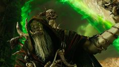 Gul'dan from warcraft movie