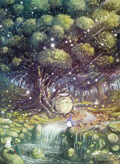 Totoro's Paradise