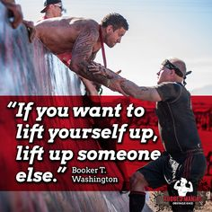 The Best Thing About OCR Is We Truly Life Each Other Up. Make Sure You