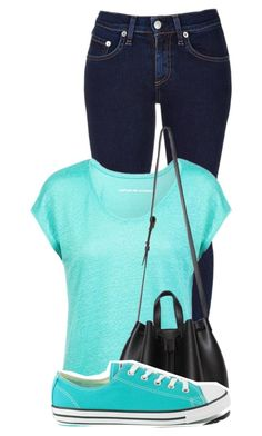 """""""Normal"""" by brubisbruu ❤ liked on Polyvore featuring rag & bone, Comptoir Des Cotonniers and Converse"""
