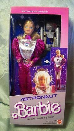 1985 Astronaut Barbie