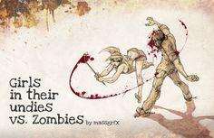 Babes vs Zombies