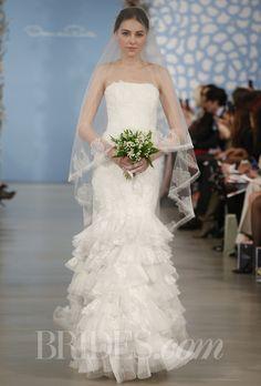 Ksenya, Oscar de la Renta - Spring 2014 │ Brides.com