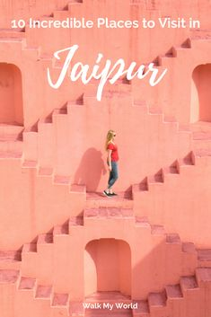 10 Incredible places to visit in Jaipur There's no better place to start a trip in Rajasthan than in Jaipur! It has so many incredible places to visit, so here's our guide to the best ones you should go to on your trip to the pink city. Goa India, Delhi India, China Travel, New Travel, Travel Usa, Agra, Best Places To Travel, Cool Places To Visit, Lonely Planet