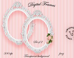 ORNATE FRAMES WHITE for Photographers Web Blog by pixelmarket, €4.50