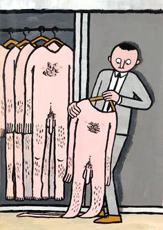 Jean Jullien's online portfolio: :-) / :-(  #thevintees #jeanjullien #illustration