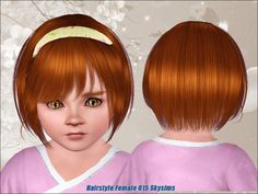 Free Skysims Hair 015 - Toddler