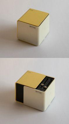 Sony 1970年的收音机 TR-1825