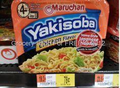 Yakisoba Noodles Just $.28 At Walmart!
