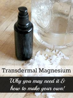 Magnesium is readily absorbed through the skin. Why not make your own magnesium oil!
