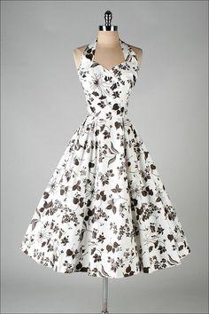 1950s JERRY Gilden dress