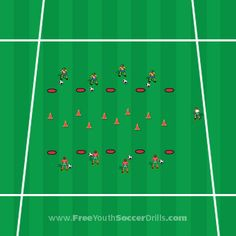 One of the best games on the soccer field! Check this U7 drill.