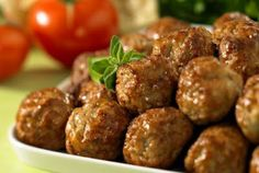 Recipes - Spicy Smoked Meatballs