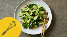 Life-Changing Cucumber Salad   Healthy 10 Minute Snack   Traditional Chi...