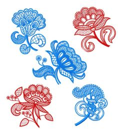 """Jacobean Embroidery Patterns 