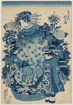 Yoyoyama of the Matsubaya by Keisai Eisen