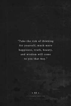 It's not even a risk, it's just the best way...