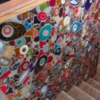 Sheryl Tuorila mosaic installation.  Her web site and blog are worth a look.