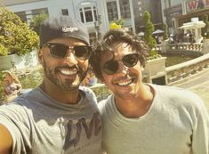 Ricky and Bob The 100 Show, The 100 Cast, Series Movies, Tv Series, Netflix Series, Lincoln The 100, Bellamy The 100, The 100 Serie, Ricky Whittle