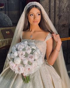 Classy Wedding Dress, Wedding Dress Bustle, Princess Wedding Dresses, Couture Wedding Gowns, Dream Wedding Dresses, Wedding Bride, Bridal Outfits, Bridal Dresses, Bridal Hair