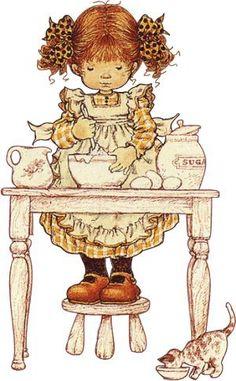 Immagini Sara Kay e Holly Hobbie Sarah Key, Holly Hobbie, Sarah Kay Imagenes, Papier Kind, Dibujos Cute, Pintura Country, Australian Artists, Illustrations, Cute Illustration