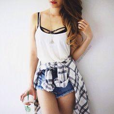 48 New Ideas How To Wear Bralette Outfit Shirts Casual Teen Fashion, Korean Fashion, Fashion Outfits, Fashion Trends, Fashion Edgy, Fashion Ideas, Feminine Fashion, Fashion 2016, Moda Fashion