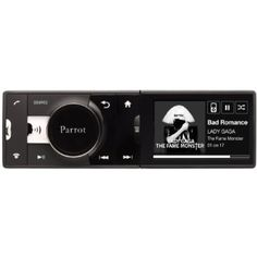 Parrot PF350001AA Asteroid Single-DIN Receiver with 3.2-Inch Color Screen and Bluetooth