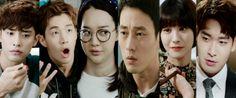 Oh My Venus. Sung Hoon, Henry Lau, Shin Min Ah, So Ji-Sub, Yoo In Young, Jung Gyu Woon. Oh My Venus, So Ji Sub, Political Leaders, Korean Drama, Kdrama, Henry Lau, Celebrities, Red Carpet, Celebs