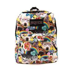 JanSport  Superbreak Hair Ball Backpack