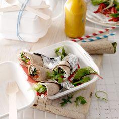 Geitenkaaswraps met geroosterde paprika - Deze wraps zijn handig én lekker om mee te nemen. #lunch #onthego #JumboSupermarkten