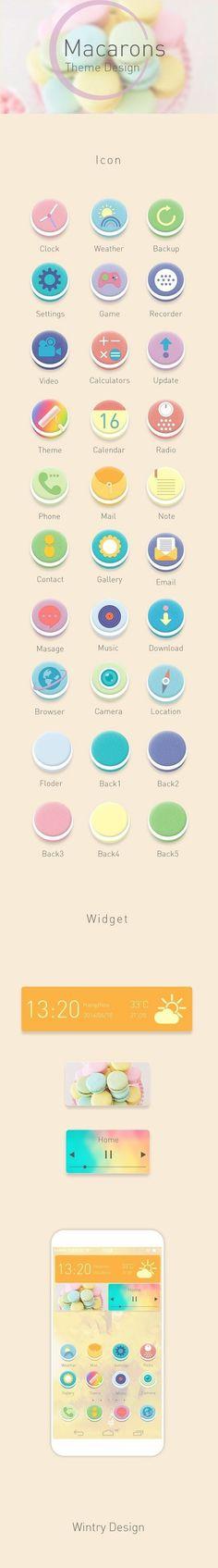 手机app主题图标设计欣赏2