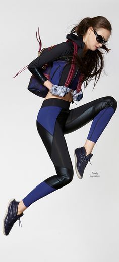 Cynthia Rowley FW2015 activewear | Purely Inspiration
