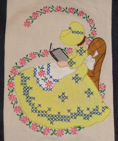 colonial lady 5th DOW Stitch Along Finished by love to sew, via Flickr