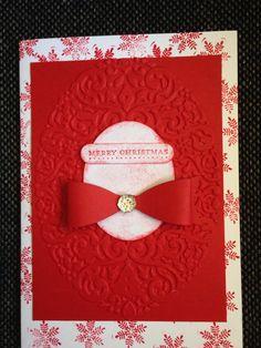 Easy handmade Christmas card