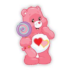 Care Bear Carnival: Love-a-Lot Bear Lollipop Wall Graphics