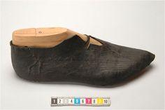 a medieval shoe